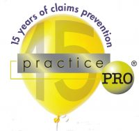 practicepro 15th anniversary balloon