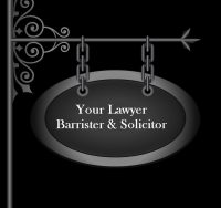 sign that says Your Lawyer