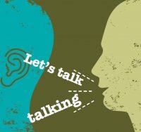 two heads talking