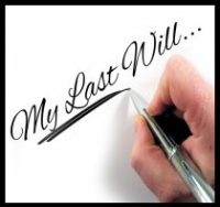 pen writing My Last Will