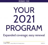 Your 2021 insurance program: Expanded coverage; easy renewal